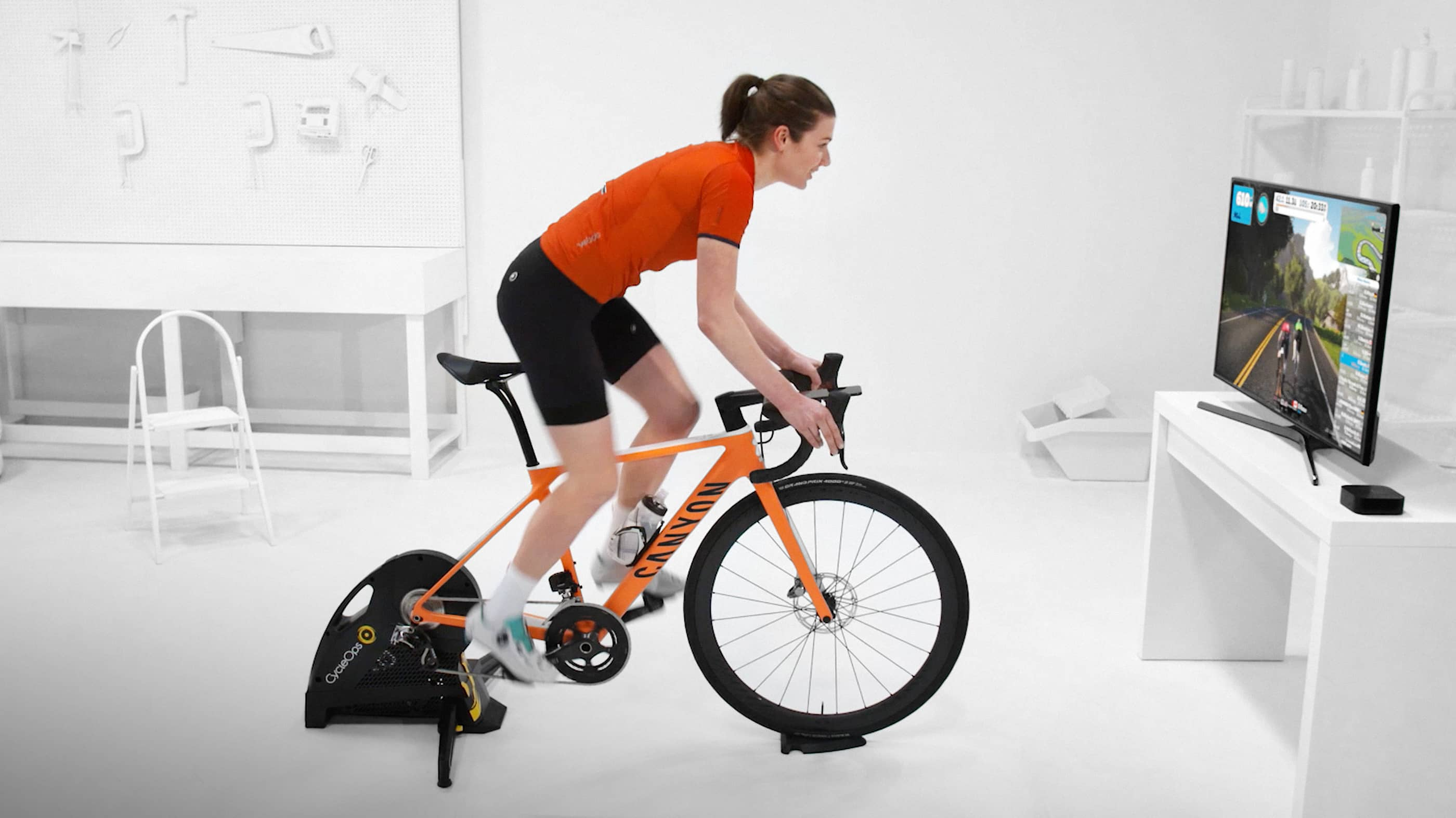 zwift turbo training