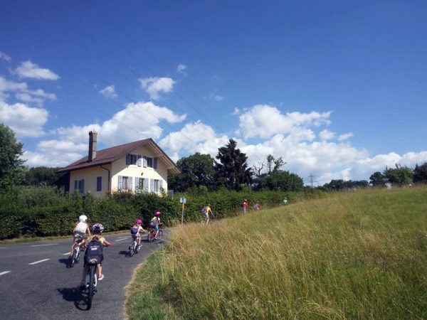 Cycling at Kids Camp