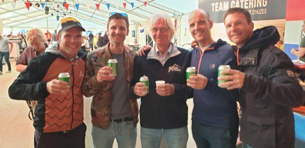 finishers beers, Heineken of course !